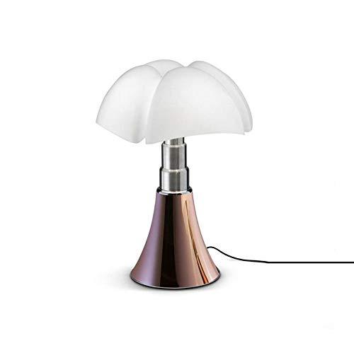 MINI PIPISTRELLO-Lampe Dimmer Touch LED H35cm Cuivre Martinelli Luce - designé par Gae Aulenti