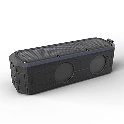 BESISOON Altavoces Bluetooth Altavoces Solar Bluetooth Altavoz Al Aire Libre Impermeable A Prueba De Golpes Carga Solar A Prueba De GolpesAltavoces Inalámbricos A Prueba De Agua para Exteriores