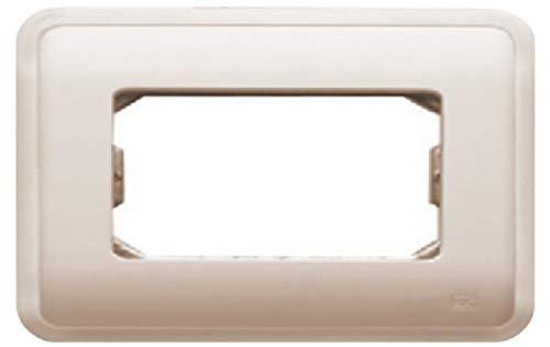 Bjc rehabitat - Placa con bastidor+marco 2 ancha/1 estrecho beige