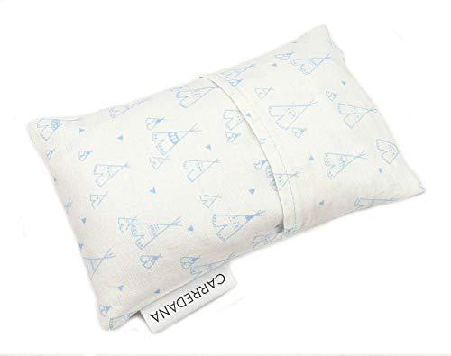 Saco térmico anti-cólicos bebé.Especial recién nacido 17 x 10cm (Tipi azul)