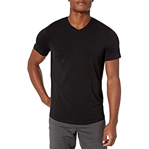 Amazon Brand – Peak Velocity Men's Pima Cotton Modal V-Neck T-shirt
