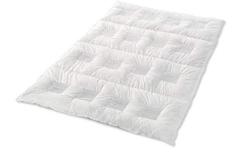 Climabalance Premium Medium Zudecke, Baumwolle, Weiß, 135 x 200 cm