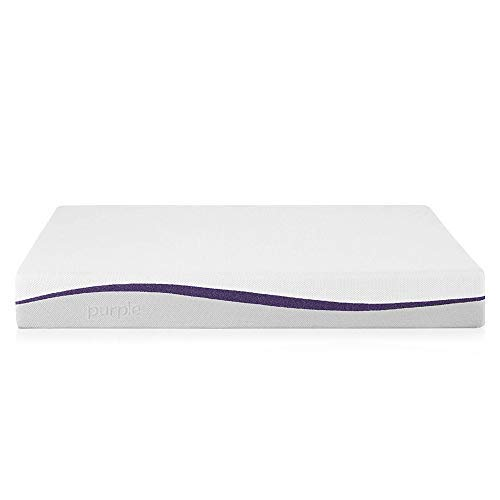 Purple Twin XL Mattress | Hyper-Elastic Polymer Bed Supports Your Back Like A Firm Mattress and Cradles Your Hips and Shoulders Like A Soft Mattress - Cooler and More Supportive Than Memory Foam
