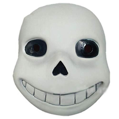 FQCD Cosplay Spectre Maske Scary Skull Skeleton Vollgesichtsmaske Halloween Karneval Kostüm Maskerade Ghost Party Masken (Color : B)