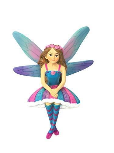 GlitZGlam Emilie La Hada en Miniatura de Azar para tu jardín de Hadas/jardín en Miniatura