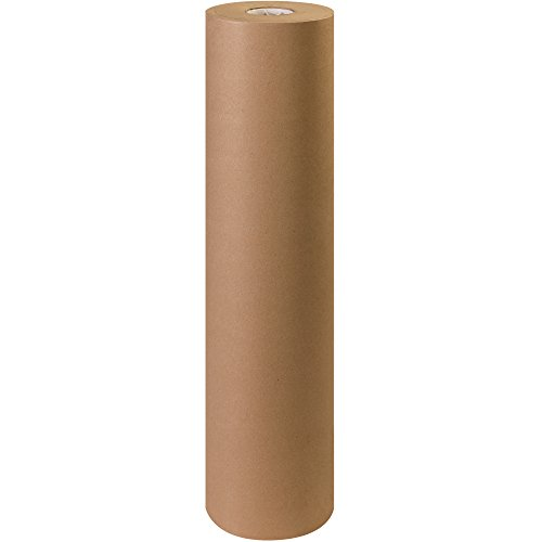 "Aviditi Kraft Paper Roll, 40#, 36"" x 900', Kraft, 100% Recycled Paper, Ideal for Packing, Wrapping, Craft, Postal, Shipping, Dunnage and Parcel"