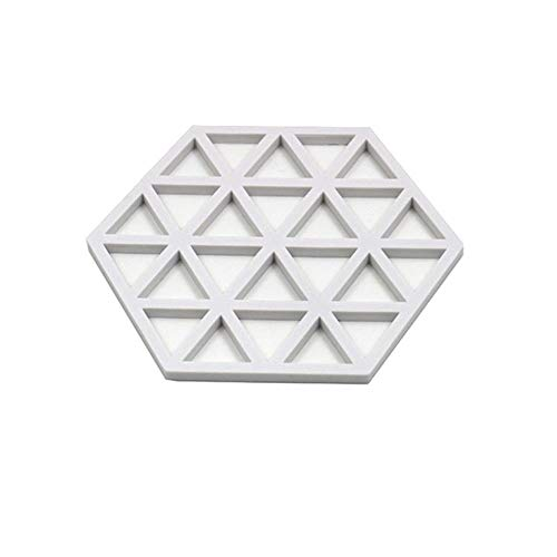 XXX 3 STK. Silikonbecher Mode Pad Schüssel Matte Tischset Untersetzer Isolier Topfmatte Reine Silikontemperatur, H.