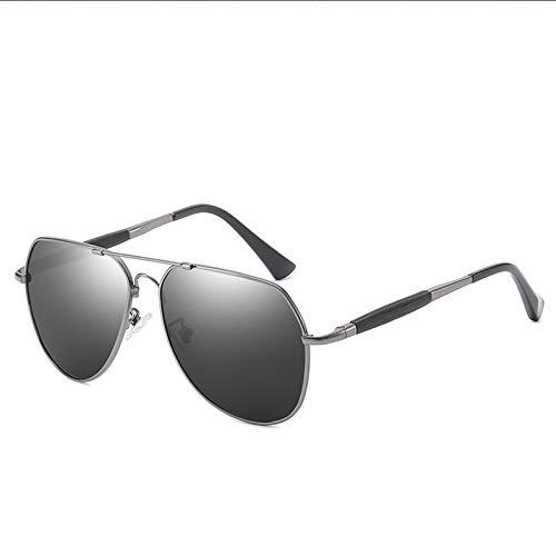 HDSJJD Gafas De Sol, Gafas De Sol Polarizadas Que Cambian por Color con Memory Metal, con Protección UV400, Anti-Deslumbramiento Y Función Anti-Ultravioleta,D