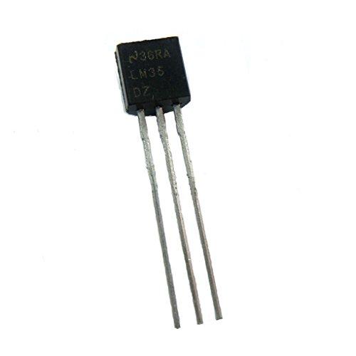 LM35DZ TO-92 LM35 Precisión Sensor de Temperatura Centígrado IC Bajo Impedancia DIY
