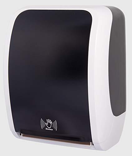 TSK System Elektrischer Handtuchspender mit Sensor - Papierhandtuchspender Handtuchrollenspender elektrisch für optimale Hygiene - Elektrischer Papierspender Sensor