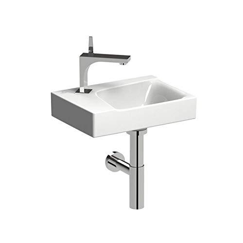 Keramag Xeno² Handwaschbecken weiß; mit Hahnloch links