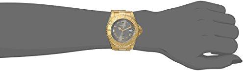 Invicta 14366 Angel Reloj analógico de Cuarzo Suizo Chapado en Oro para