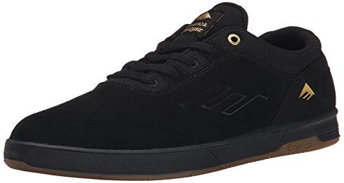 Emerica Herren Westgate CC Skateschuh, (Schwarz/Gum), 38.5 EU