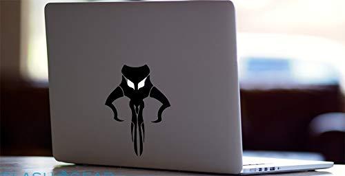 Boba Fett Star Wars for MacBook Laptop car Window Coffee Cup Mug Water Bottle Locker Die-Cut Vinyl Decal Sticker