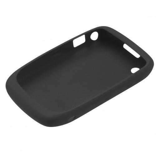 BlackBerry Silikonhülle (Skin) für BlackBerry Curve 9300 / 8520, schwarz