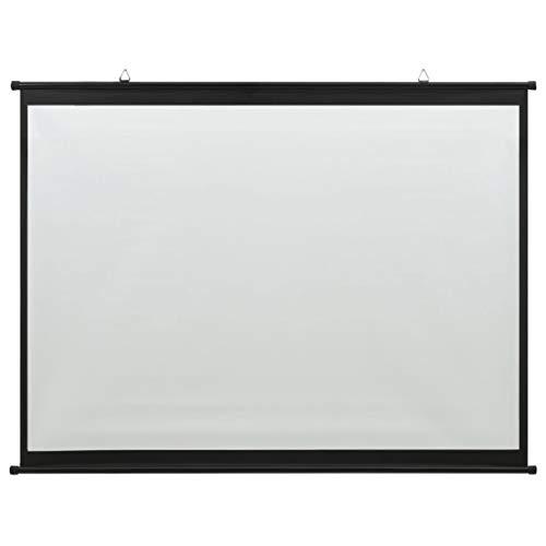 vidaXL Schermo di Proiezione Telo di Proiezione Telone per Film e Diapositive Accessori per Proiettori Display Schermata Visualizzatore 63' 1:1