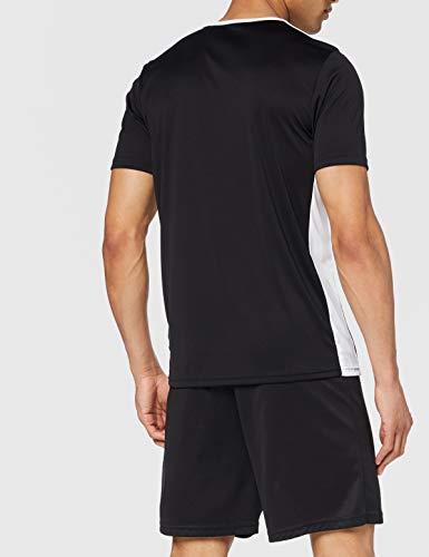 adidas Entrada 18 JSY T-Shirt, Hombre, Black/White, M