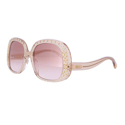 Chloé Gafas de Sol QLEO CE755SR BROWN/BROWN SHADED 54/20/145 mujer