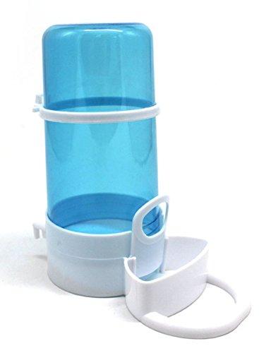 NYSh 自動給餌器 給水器 えさ入れ ハムスター 小鳥 小動物用 ケージ固定 エサ入れ容器