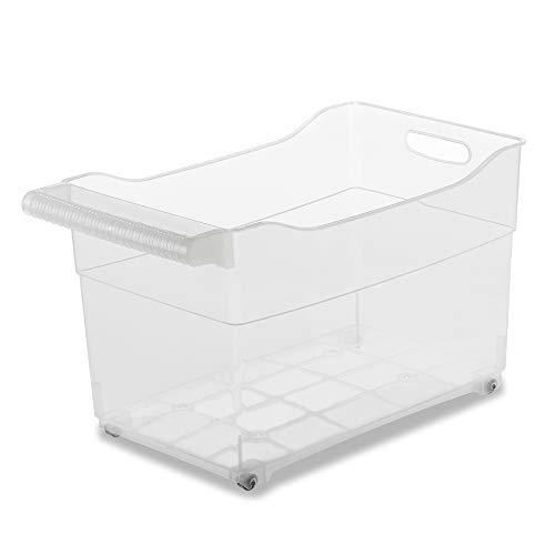 USE FAMILY -Cajas almacenaje plastico con Ruedas -Organizado
