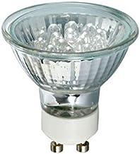 Paulmann 28048 LED Reflector 20° 1W GU10 230V 51mm Warm White, 1 W, Silver