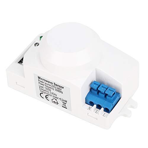 Interruptor del detector de movimiento, inducción automática del interruptor del sensor de microondas del control inteligente para la lámpara de calle para la fábrica