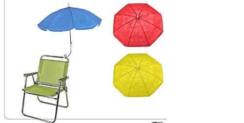 Sombrilla flexible para silla Disponible en tres colores diferentes, se enviará el modelo de forma aleatoria según la disponibilidad del mismo