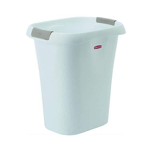 Rubbermaid Open Wastebasket, 21-Quart, White