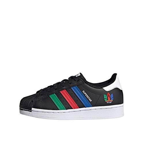 adidas Superstar C - Zapatillas deportivas para niño FW5237 Negro 34