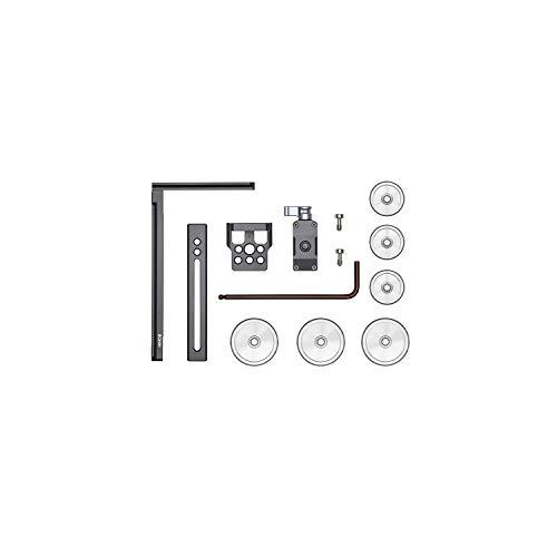 DJI - Soporte en L con contrapeso del Ronin-S/SC, permite montar la cámara en vertical o en horizontal, incluye agujeros de montaje y contrapesos para más flexibilidad al configurar la cámara
