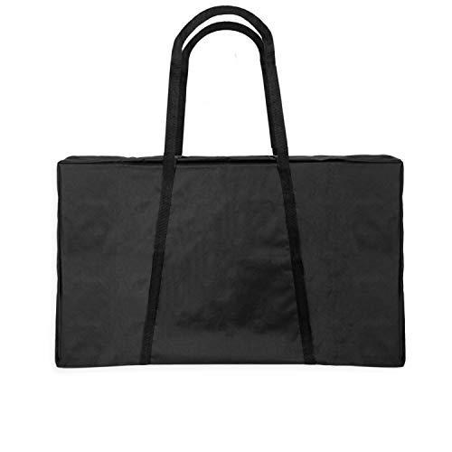 Play Platoon Cornhole Board Carrying Case, Black - 3x2 Ft Tailgate Size Corn Hole Boards Storage Bag