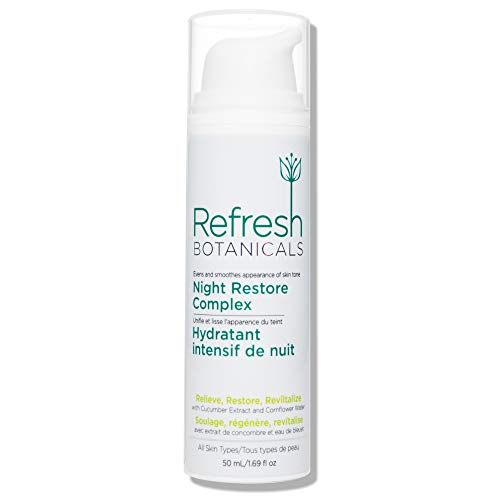 Refresh Botanicals Natural and Organic Age Defying AntiWrinkle Night Restore Complex Night Cream