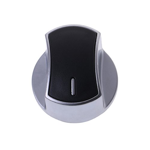 1 Stück Metall silber Universal Gasherd-/Ofen-/Kochfeld-/Küchenschalter