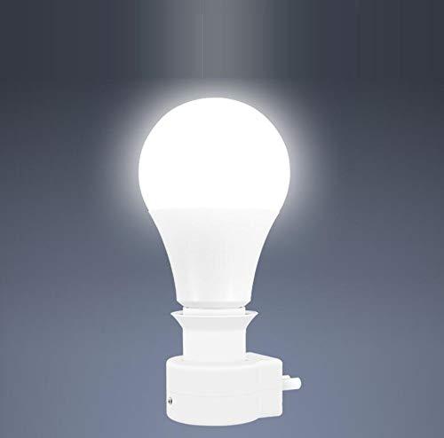 Led-stembediening, nachtlampje, stopcontact, licht met schakelaar, voor in huis, slaapkamer, hal, bed, lichtregeling met sensor.