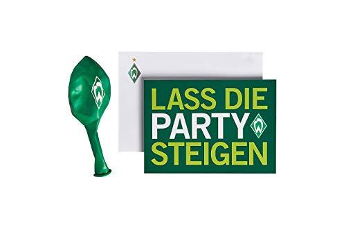 Werder Bremen SV Karte Glückwunschkarte Party