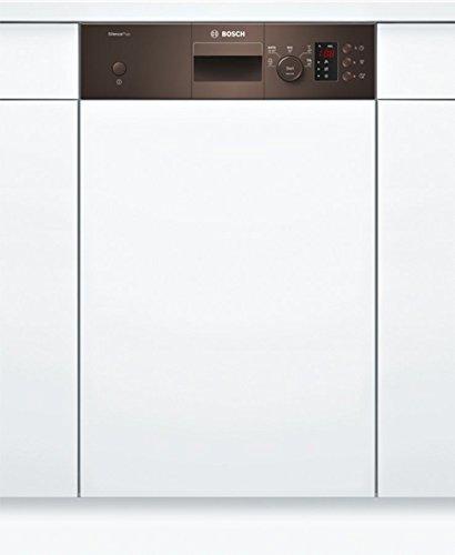 Bosch SPI25CM03E Geschirrspüler Teilintegriert / A+ / 220 kWh/Jahr / 2380 L/jahr / Aqua Sensor / Active Water Hydrauliksystem / Braun