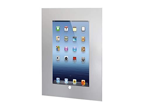 TabLines TWE050S Tablet Wandeinbau Apple iPad 2/3/4, Homubtton zugänglich, silber