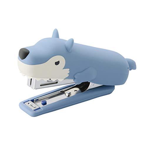 マックス ホッチキス シリコンカバー りくちののいきもの オオカミ HD-10NX/S WL
