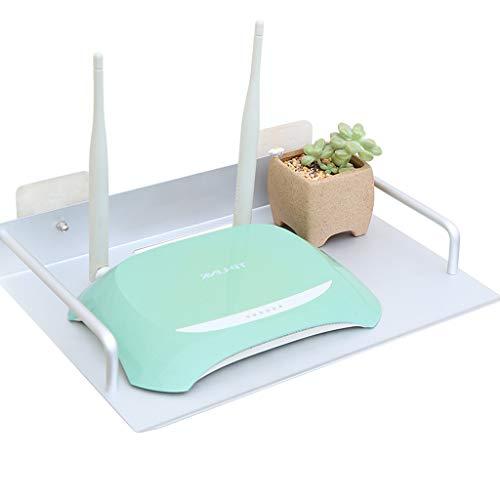 AFEO-Mural Meuble TV Routeur Wi-FI Set Top Box Lecteur de DVD Étagère de Rangement pour CD Étagère Murale Étagère Flottante étagère d'affichage Multifonctions Console multimédia