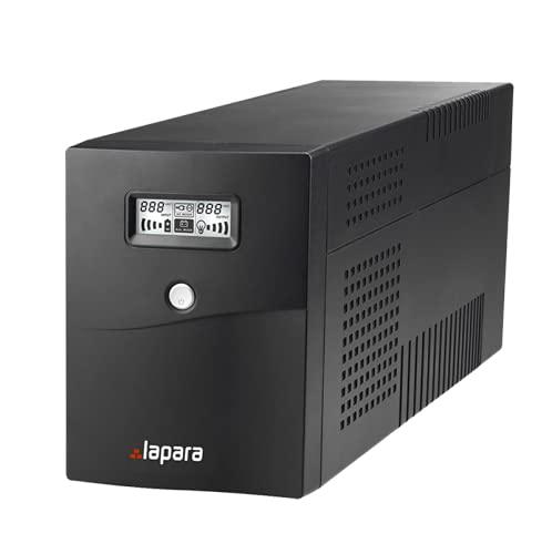 Lapara LA-VST-850LCD Sistema de Alimentación Ininterrumpida SAI 850VA 480W LCD Interactivo