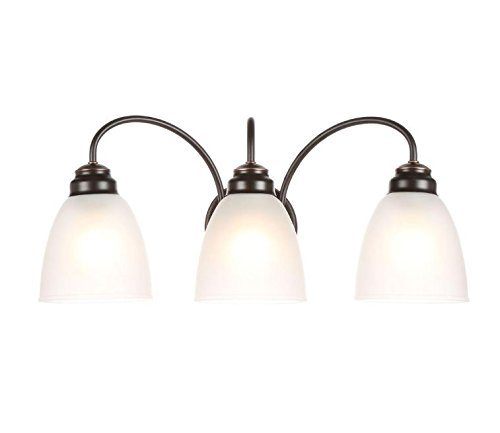 Commercial Electric Oil Rubbed Bronze 3-light Vanity