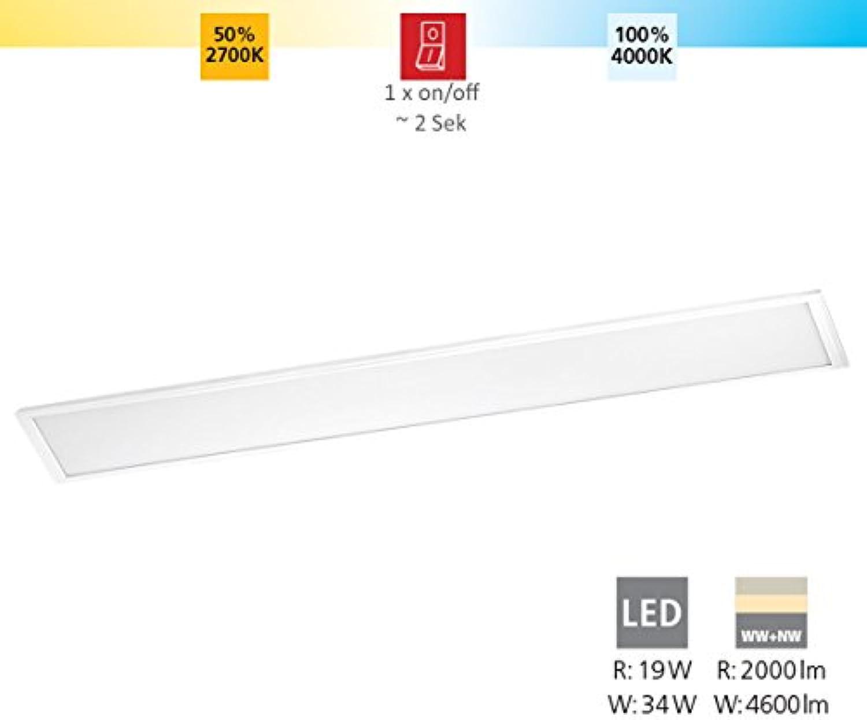 EGLO SALOBRENA-RW Deckenleuchte, Aluminium, 34 W, weiss
