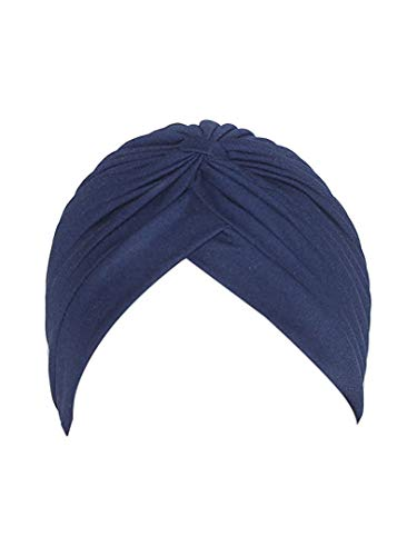 Sikh Cotton Turban for Men - Tohra Color - Double Stitched Punjabi Pagri - 8 Metre