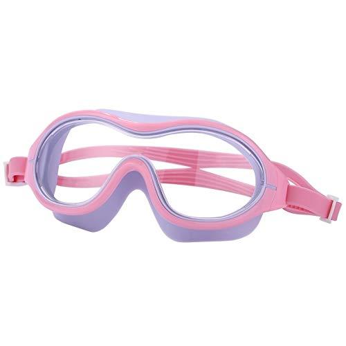 Duikbril voor volwassenen, groot frame, zwembril, anti-condensbril, waterdicht, voor zwembaden, professioneel glas, duikbril, kleur: Z, Eyewear, maat: XXL