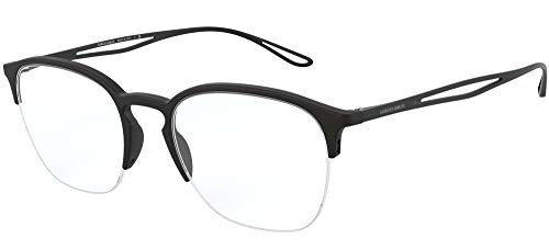 Armani 0AR7175 Gafas, Negro Mate, 50 para Hombre