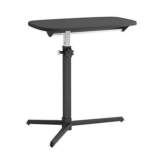 Table HAIZHEN Station de Travail pour Ordinateur Portable Facile à déplacer Hauteur réglable Canapé