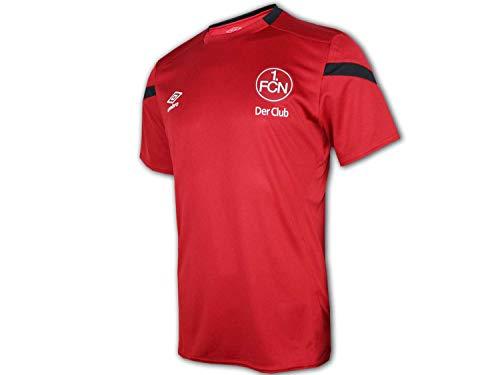 UMBRO 1. FC Nürnberg Kinder Training Shirt rot Club Jersey FCN Trikot Bundesliga, Größe:158