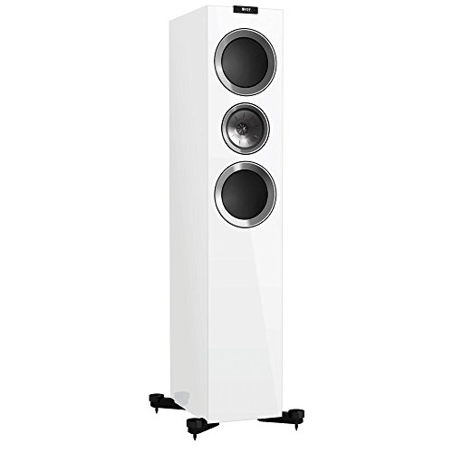 Check Out This KEF R700 Floorstanding Loudspeaker - Gloss White (Pair)