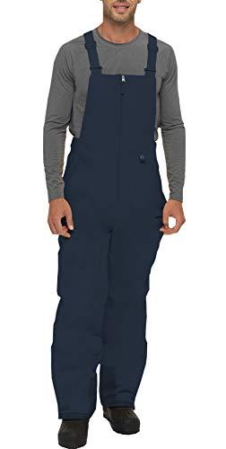 Arctix Men's Essential Insulated Bib Overalls, Blue Night, Small (29-30W 32L)