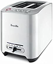 Breville BTA820XL Die-Cast 2-Slice Smart Toaster, Brushed Stainless Steel